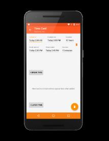 app brief - Time Card App